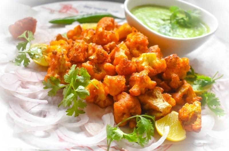 Easy Crispy Cauliflower Bites