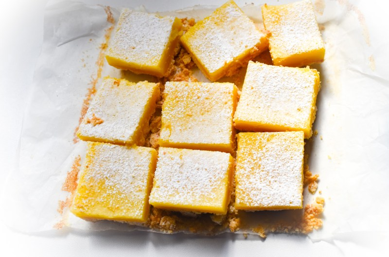 Simply Delicious Lemon Bars
