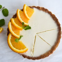 Easy Creamy Orange Posset Tart