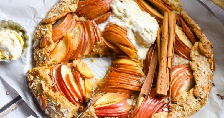 Spiced Frangipane Apple Galette