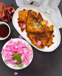 Pumpkin Chai Spice French Toast - Parveenskitchen.com