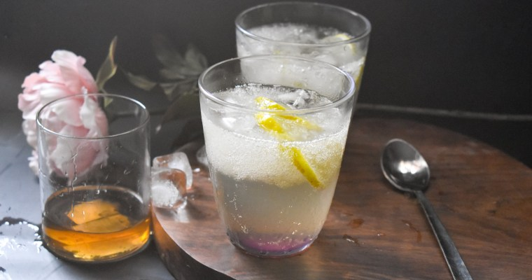 Lemonade with Almond Gum Badam Pisin