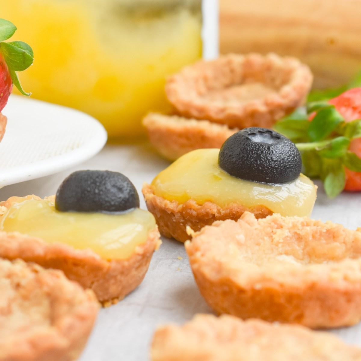 Mini Lemon Curds - Parveenskitchen.com