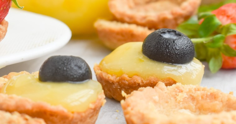 Easy Mini Lemon Tarts : Idea & Pics only