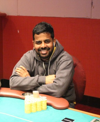 Sridhar Sangannagari Chip Count: 4,240,000
