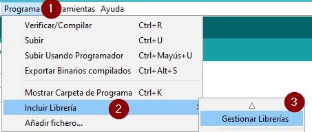 Men%C3%BA de librer%C3%ADas - Electrogeek