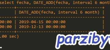Sumar fechas en MySQL