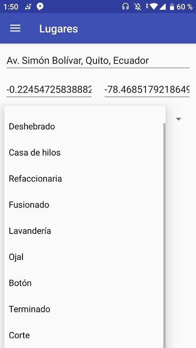 Spinner llenado con Array de Strings en Android