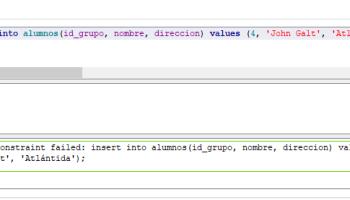 Cuidado con la columna rowid autoincrementable de SQLite