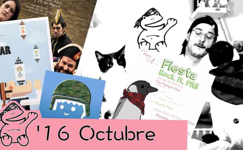 Agendica Octubre 2016