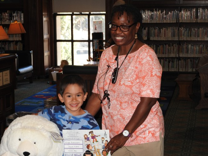 Meet the kids' grand prize winner for Central Library!
