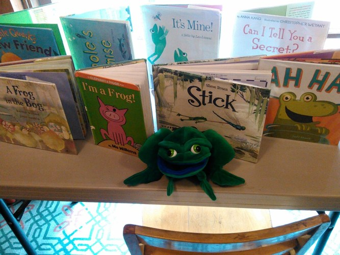 Frogs: Infant Storytime