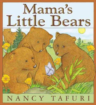 Bears ~ Infant Storytime