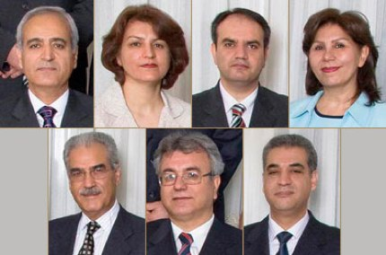 7 Imprisoned Baha'i Leaders in Iran