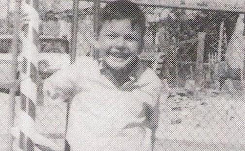 Imagen de Richard Ramírez cuando tenía 6 años de edad
