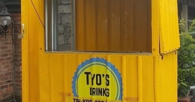 booth gerobak baja ringan kontainer semarang