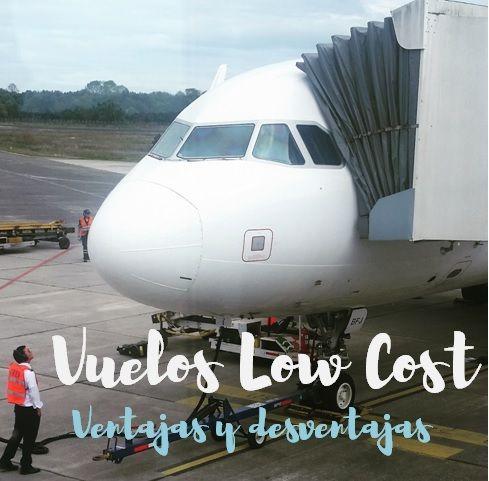 Vuelos Low Cost: ventajas y desventajas