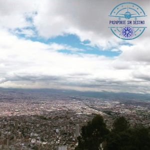 Vista de Bogotá desde Monserrate