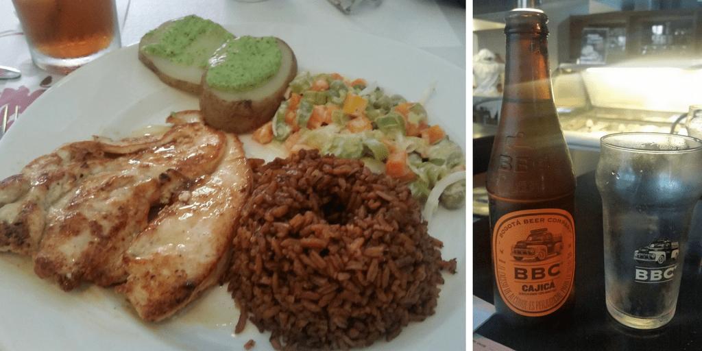 Comida Cartagena de Indias