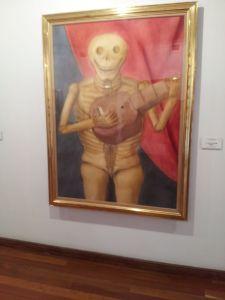 """La muerte tocando guitarra"""