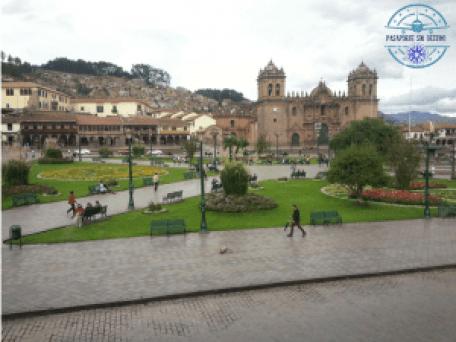 Cusco bajo la lluvia
