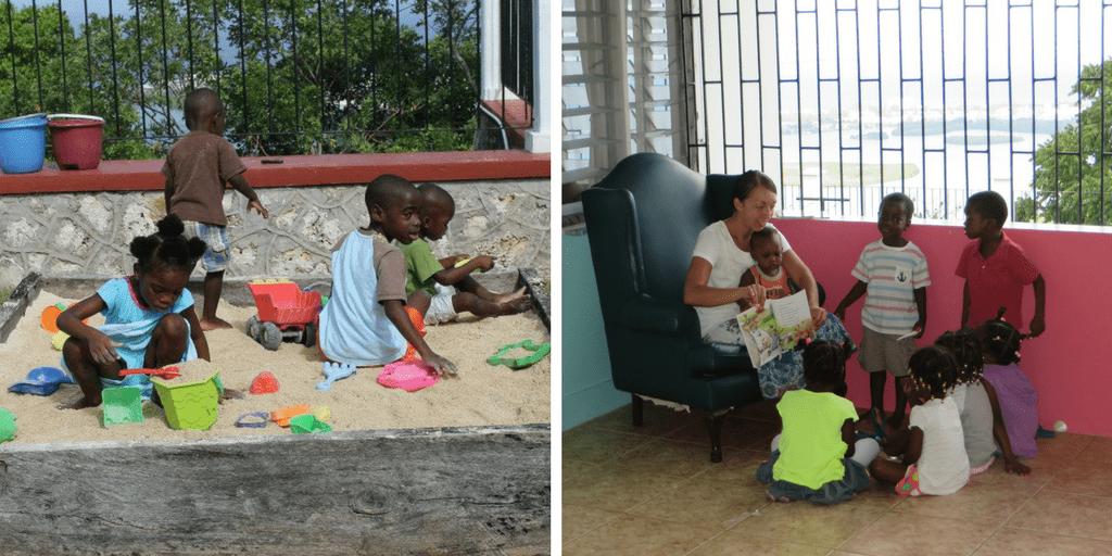Ayudar en Jamaica - las tías