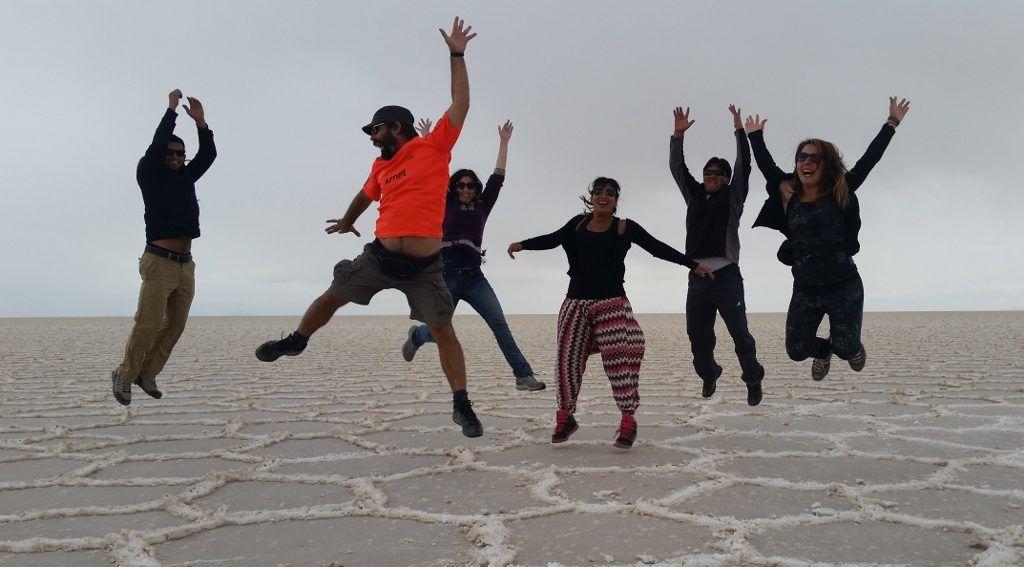 Fotos en el Salar de Uyuni
