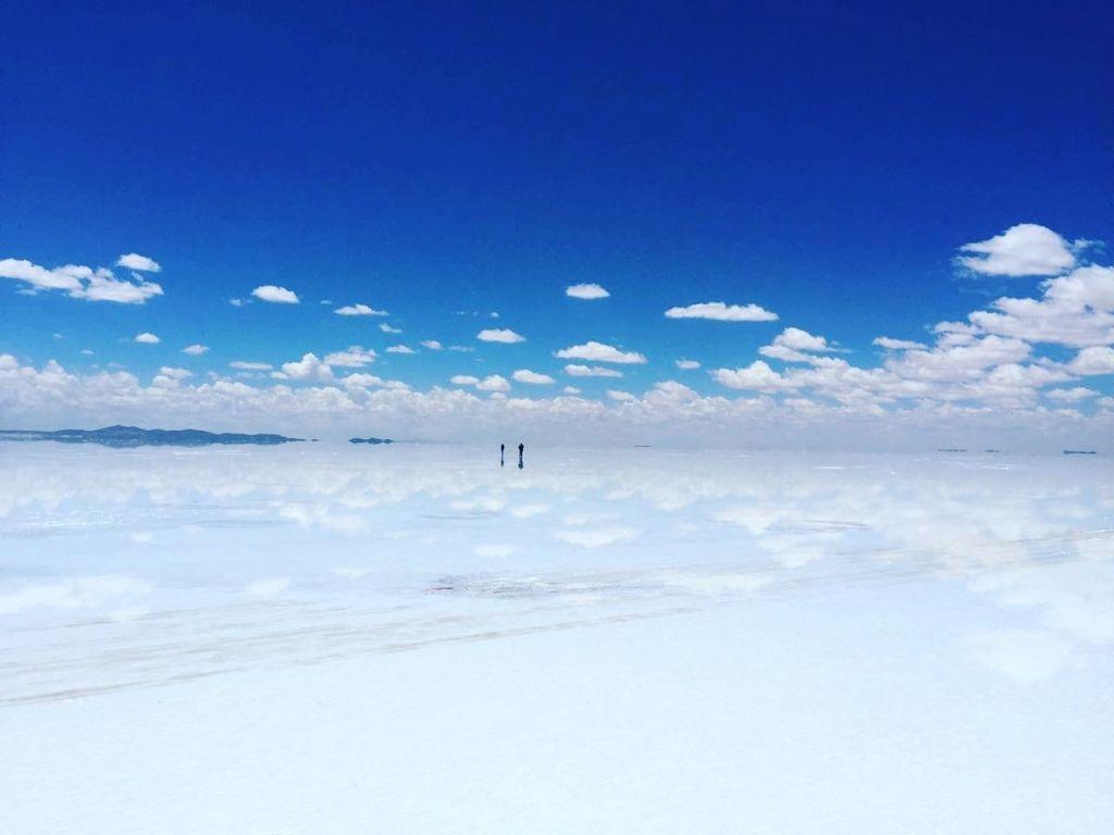 Salar de Uyuni en su mejor momento