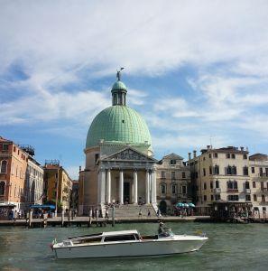 Venecia desde la estación de tren