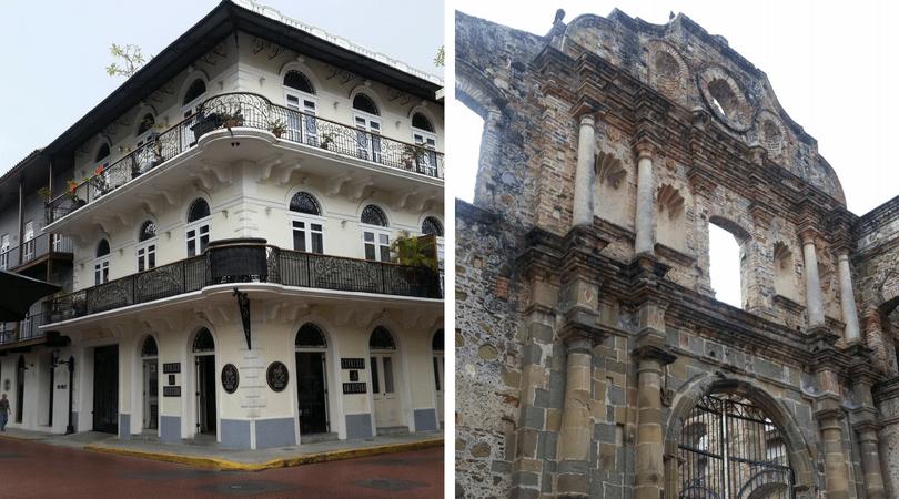 Un poco de la arquitectura del Casco Antiguo de Ciudad de Panamá