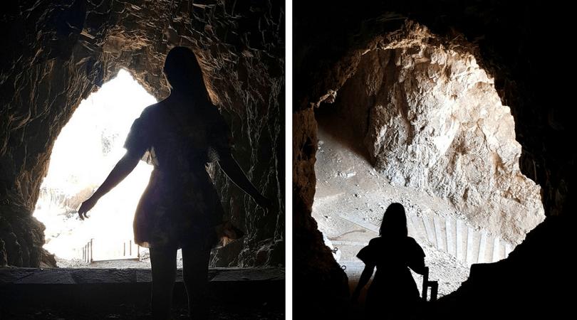 Es impresionante recorrer el interior de las cuevas por su valor arqueológico