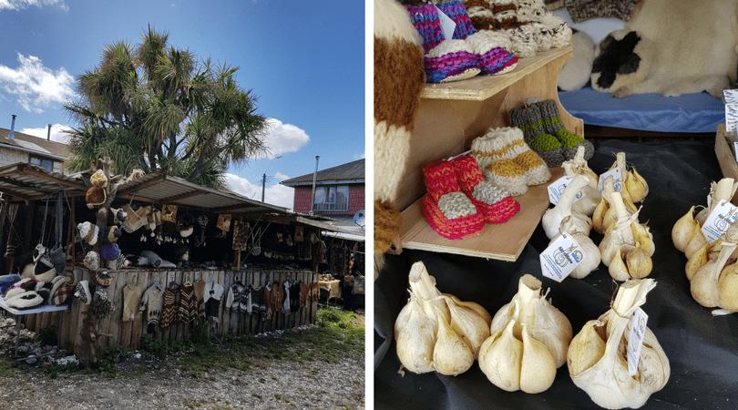 Ferias artesanales en Dalcahue