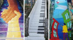Las más lindas escaleras de Valparaíso