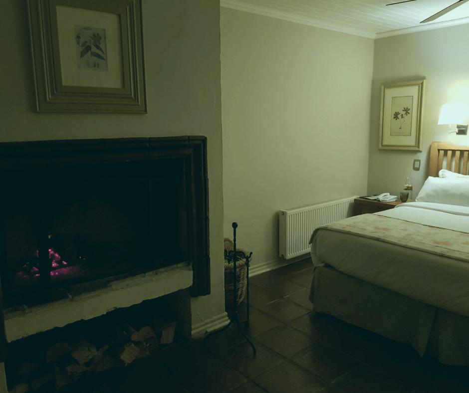 Encontrar la chimenea encendida y dormirte con el crepitar de la madera no tiene precio