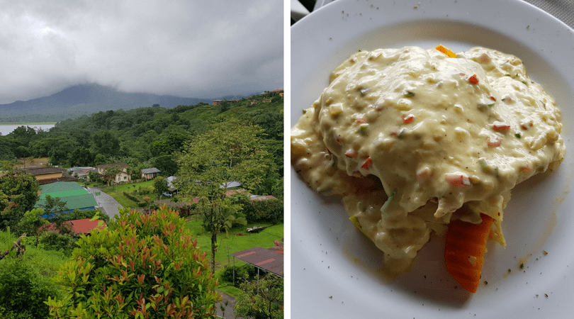 Vistas desde Fusión Grill y sus deliciosos platos