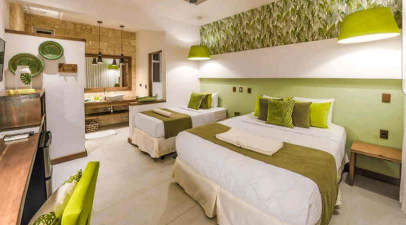 Una de las habitaciones del Umami Hotel