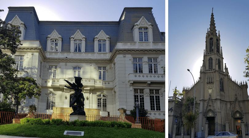 La Defensa de Rodin frente al Palacio Carrasco y la iglesia Las Carmelitas