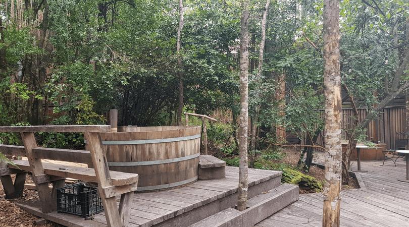 Los hot tubs de Huilo Huilo, un lugar de absoluto relajo