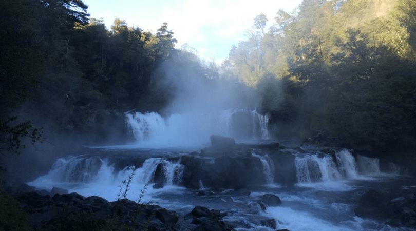 Salto de La Leona - Huilo Huilo