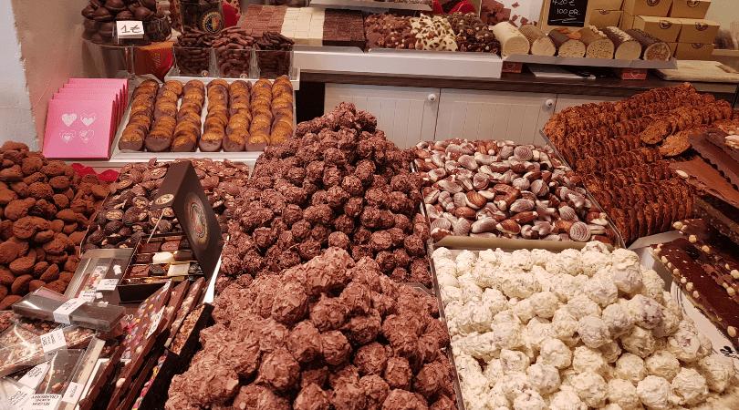 Los chocolates de Pur Chocolat fueron lejos mis favoritos