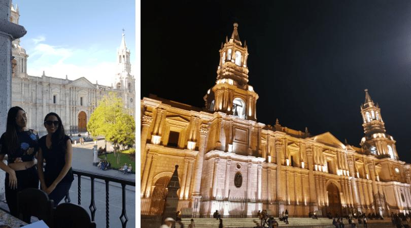 La ciudad blanca es hermosa, de día y de noche