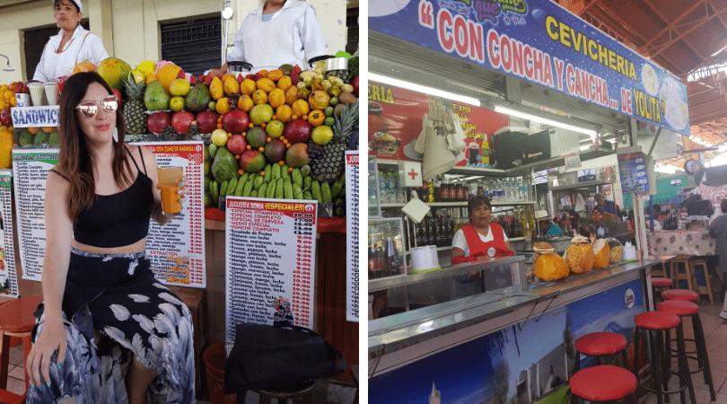 Las juguerías y cevicherías del mercado de San Camilo
