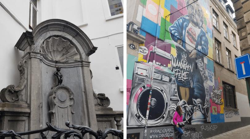 La celebridad de la ciudad, además retratado en graffitis y cuanta cosa se te ocurra