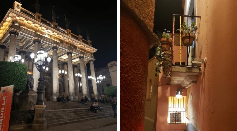 La vida en la ciudad de Guanajuato no para de día ni de noche