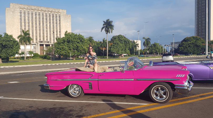 Pasear en un Impala del año 58, una experiencia inolvidable