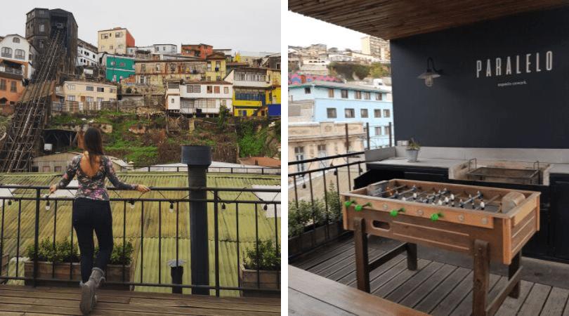 ¿cómo no amar las vistas de la terraza tan típicas de Valparaíso, a la terraza tienen acceso también quienes usan solamente el cowork