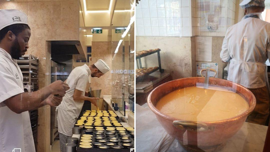 motivos para visitar Portugal - los pasteles de nata