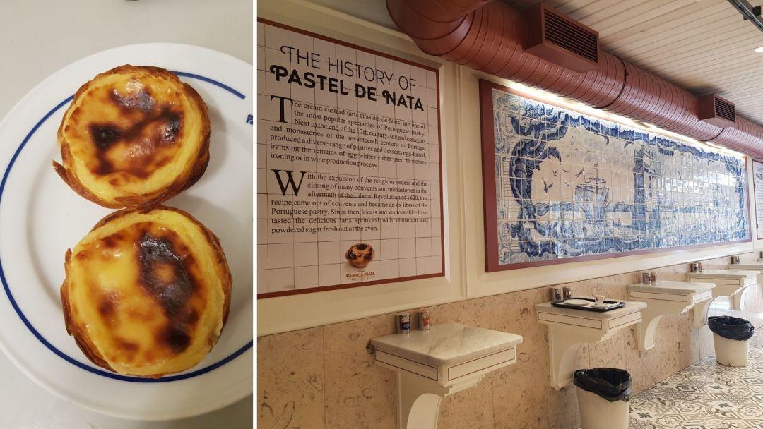 motivos para visitar Portugal - los pasteles de nata 2