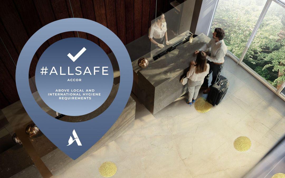 Accor se alista para volver: alianza con AXA para asistencia médica en todos sus hoteles y ALLSAFE