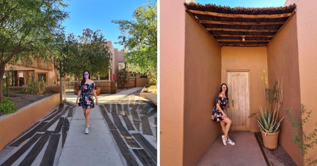 Un poco de los detalles exteriores de NOI Casa Atacama